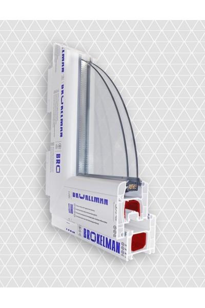 Оконный профиль BROKELMAN B58
