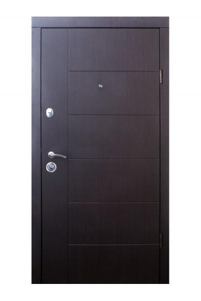 Входная дверь Аризона черно-белая