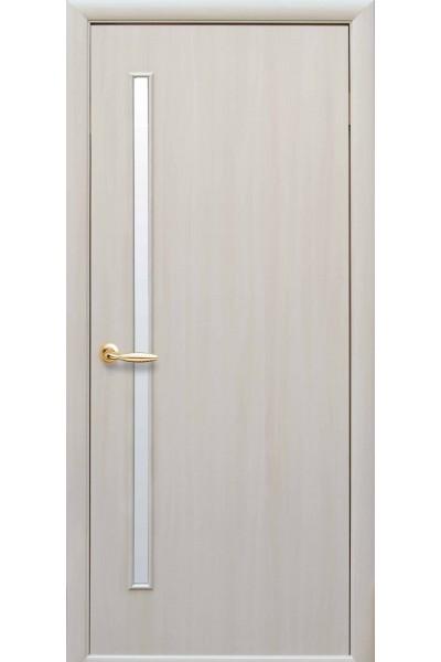 Межкомнатная дверь Глория  Дуб Жемчужный экошпон