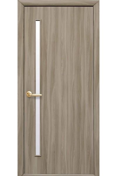 Межкомнатная дверь Глория  cандал экошпон