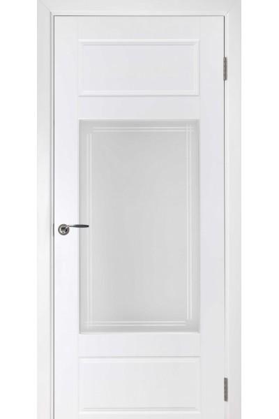 Межкомнатная дверь Барселона ПО эмаль белая