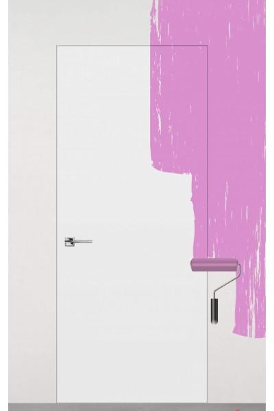 Межкомнатная дверь скрытого монтажа под покраску